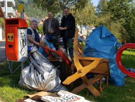 10.2017 Alle Mann in die Elz – Großeinsatz des ASV Waldkirch