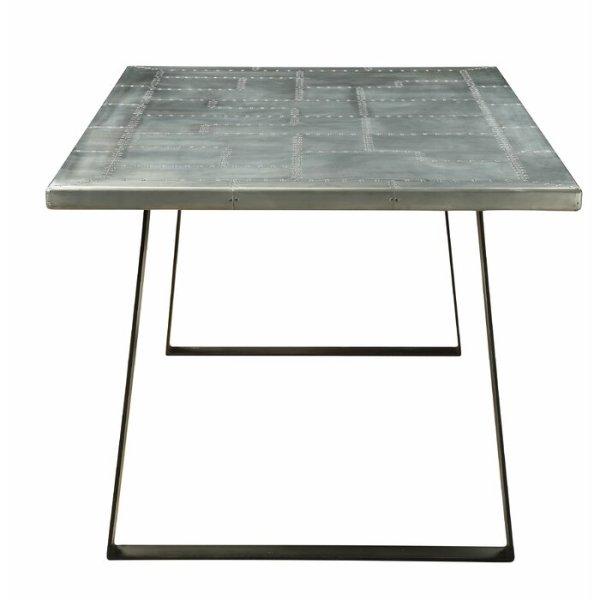 bàn ăn kim loại 1