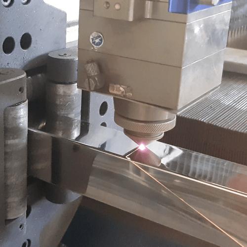Cắt laser cnc hộp inox