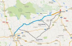 Dia 2: Sevilha » Córdova - 137km