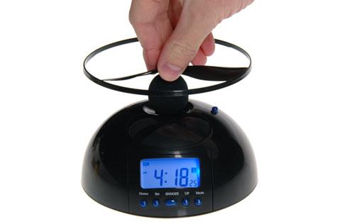flying-alarm-clock-backlit-display