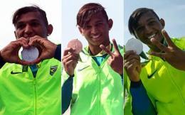 Isaquias Queiroz: primeiro atleta brasileiro a conseguir três medalhas em uma mesma edição das Olimpíadas. O campeão mostrou ao povo brasileiro a sua história repleta de superações (Reprodução)