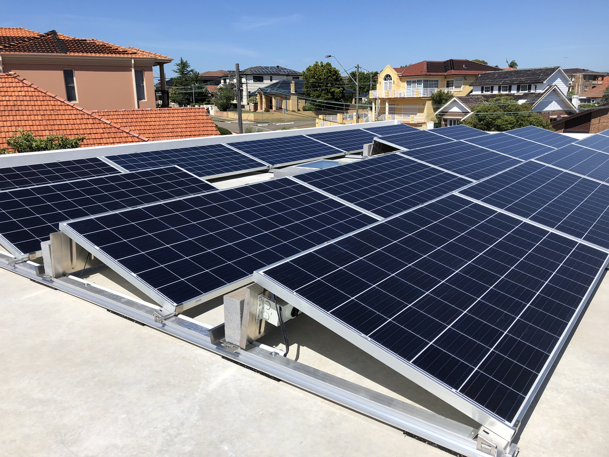 5.94kW Ballasted Solar System