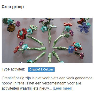 Crea groep