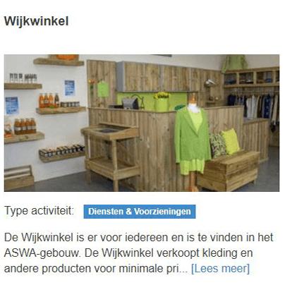 Wijkwinkel