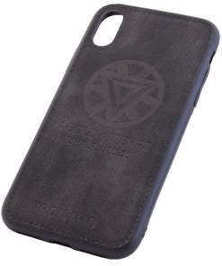 iPhone XS Ironman Black Cover Case