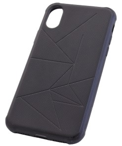 iPhone X Black Silicone Cover Case