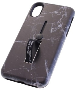 iPhone X Marble Brown Cover Case
