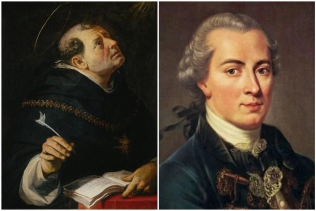 إيمانويل كانط وتوماس الإكويني