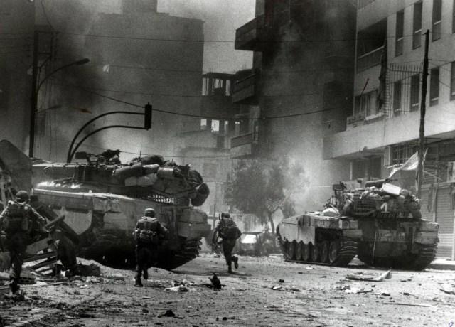الغزو الإسرائيلي للبنان عام ١٩٨٢