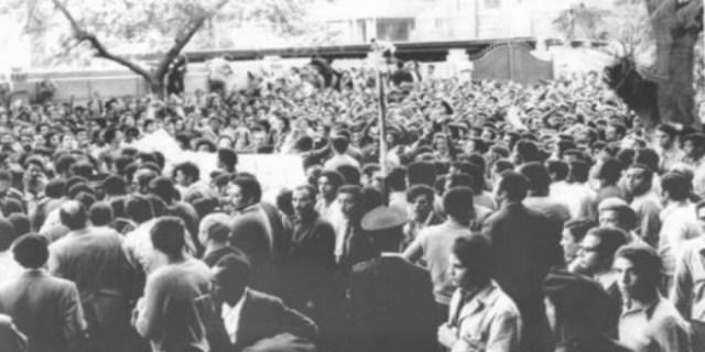 المظاهرات الطلابية بمصر في السبعينات