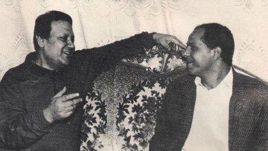 الصحفي سعيد الشحات ومحمدي رشدي