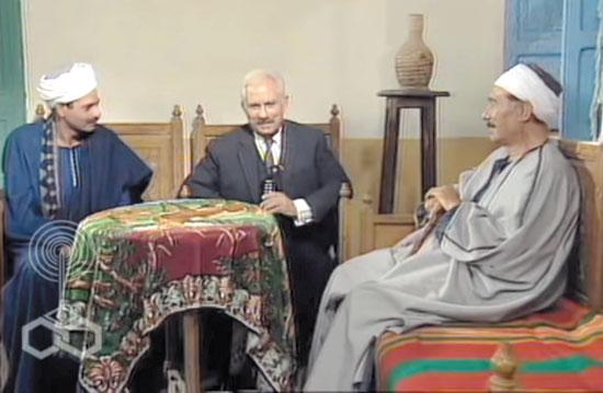 مشهد من مسلسل خالتي صفية والدير عن رواية بهاء طاهر
