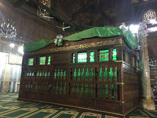 ضريح الإمام الشافعي