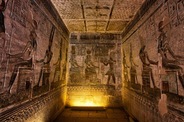 جدارية على أحد المقابر المصرية القديمة