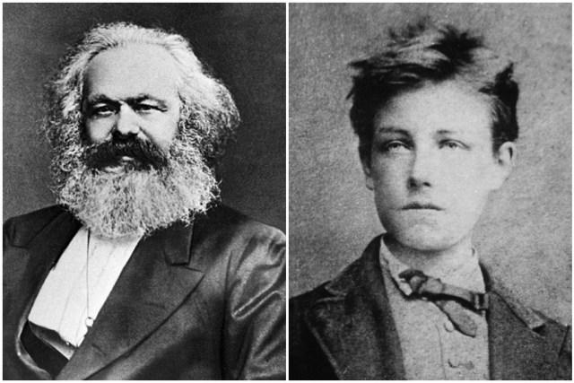 أرثر رامبو كارل ماركس