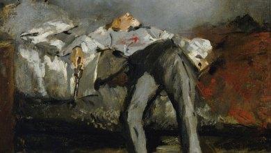 لوحة الانتحار لإدوارد مانيه