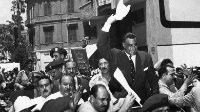 جمال عبد الناصر مع الشعب