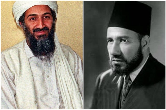 حسن البنا وأسامة بن لادن