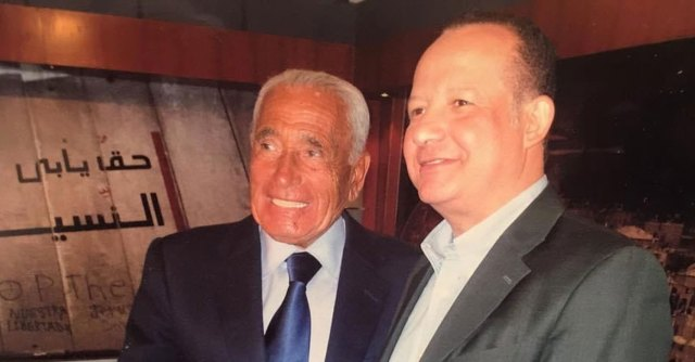 حسين عبد الغني ومحمد حسنين هيكل