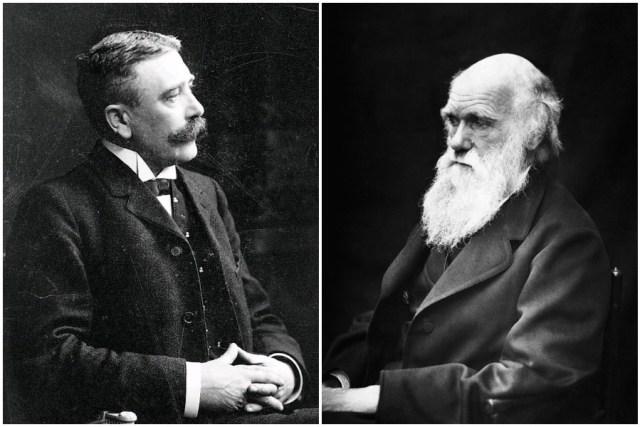 داروين وفرديناند دي سوسير