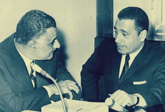 هيكل وجمال عبد الناصر