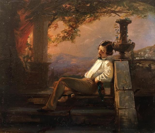 لوحة لكارولوس دوران