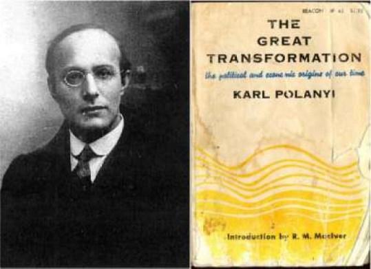 كارل بولاني التحول العظيم
