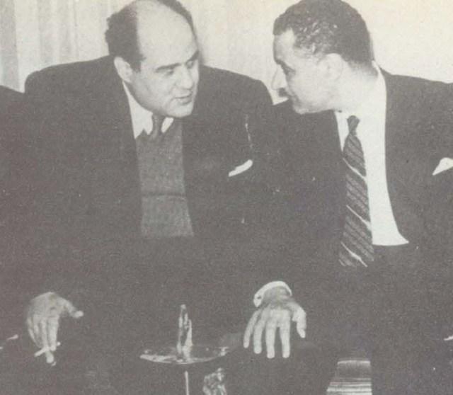 جمال عبد الناصر ومصطفى أمين