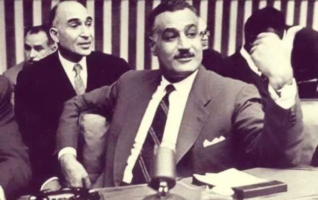 جمال عبد الناصر ومحمود فوزي