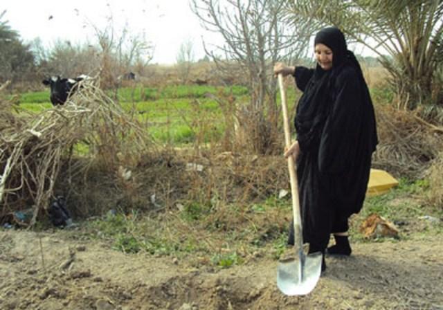النساء العاملات في الريف