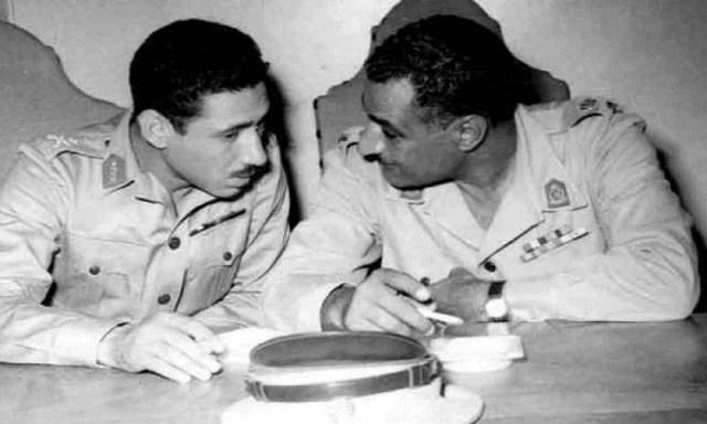 عبد الناصر وعبد الحكيم عامر