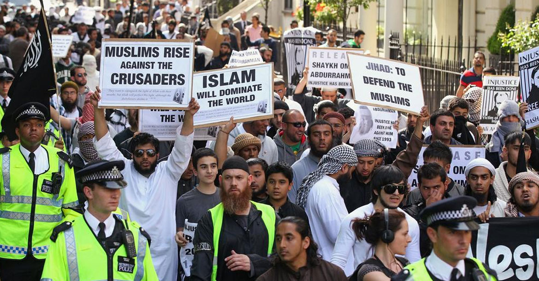 مظاهرات الإسلاميين