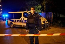 الشرطة الفرنسية في موقع ذبح المدرس
