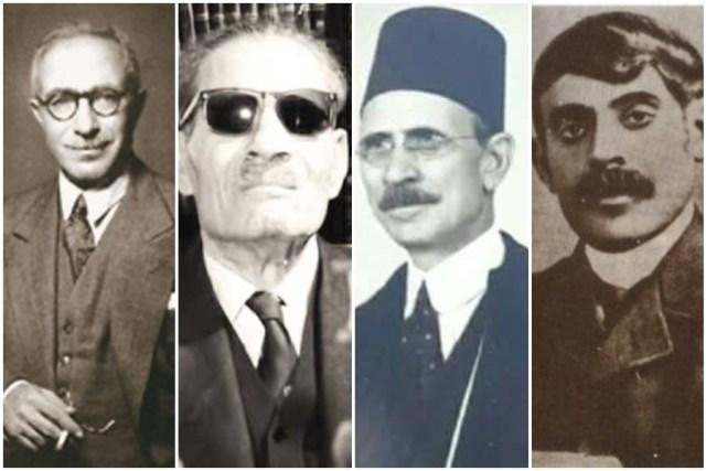 قاسم أمين وأحمد لطفي السيد وطه حسين ومحمد حسين هيكل
