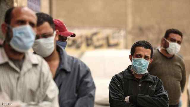 الكمامة في شوارع مصر