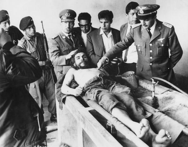 جيفارا بعد وفاته