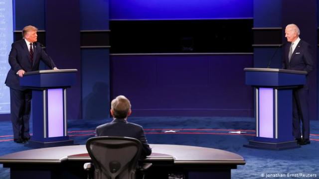 مناظرة الرئاسة الأمريكية بين ترامب وبايدن