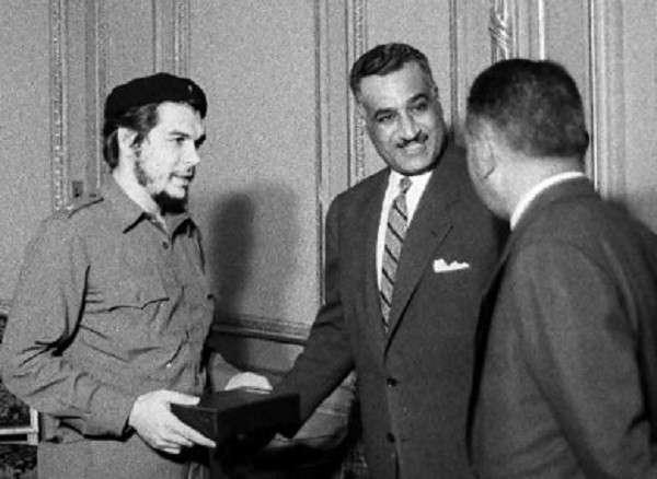 عبد الناصر وجيفارا