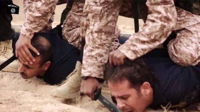 داعش وعمليات الاعدام بالذبح