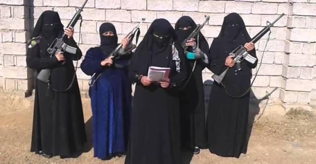 مشاركةالمرأةفيالإرهاب