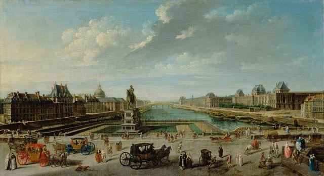 باريس في القرن الثامن عشر