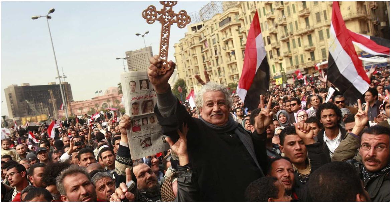 المسيحيين ثورة يناير
