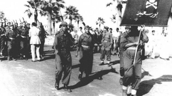 قوات الدفاع الشعبي في بورسعيد أثناء العدوان الثلاثي