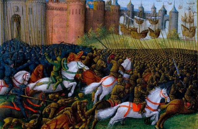 الحروب الصليبية في القرون الوسطى