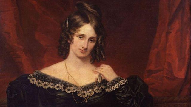 صورة ماري شيلي، التي رسمها الفنان صموئيل جون (1778-1863)
