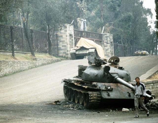 الحرب الأهلية الإثيوبية في السبعينات