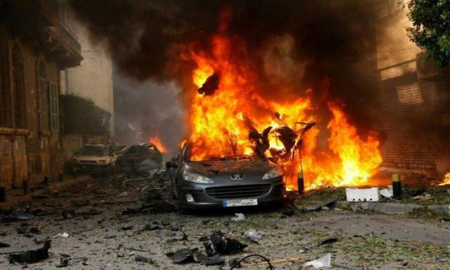 تفجيرات داعش في سوريا