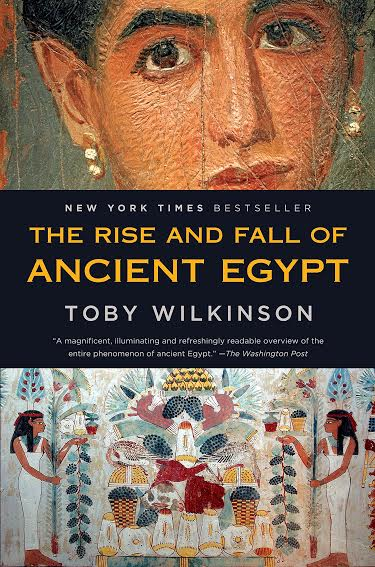 غلاف كتاب قيام وانهيار مصر القديمة