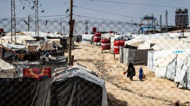 مخيم لأسر عائلات الدواعش